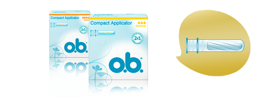Тампоны o.b.<sup>®</sup> Compact Applicator