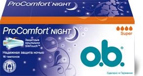 o.b. ProComfort Night Super